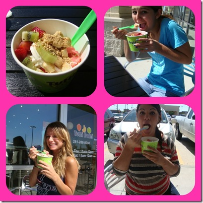 froyo collage