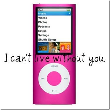 pink ipod nano